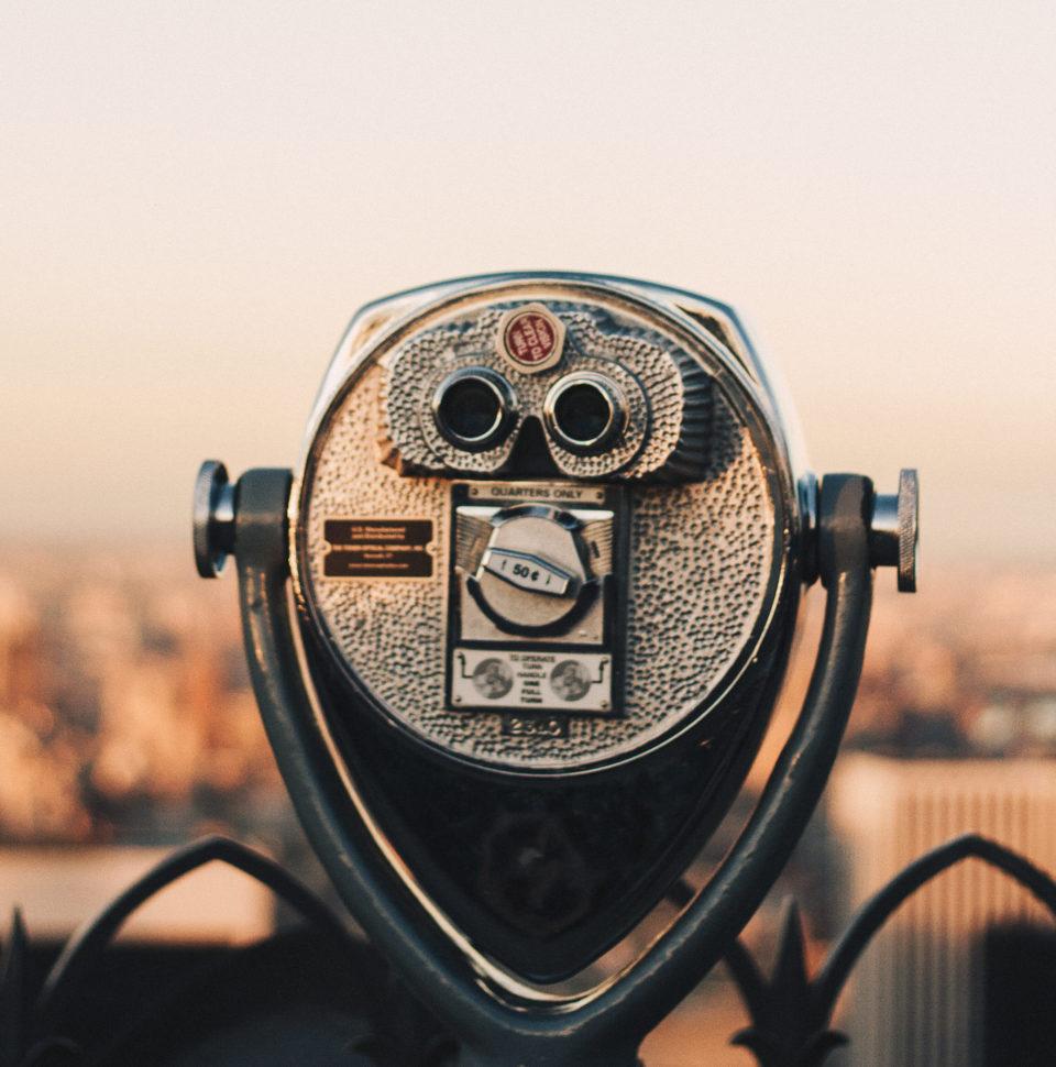 City binocular